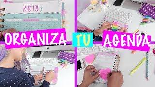 TIPS PARA ORGANIZAR TU AGENDA O LIBRETA! Lorena G ♥