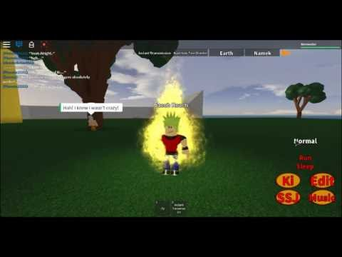 Locations of All Forms In Dragon Ball RP: Legends! (ROBLOX)