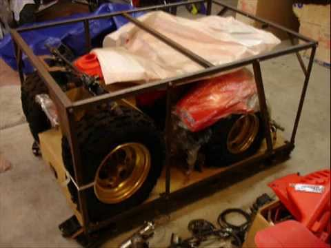 Honda 1986 250R 3 Wheeler ATV Found In The Crate