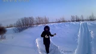 Буран Лидер, глубокий снег