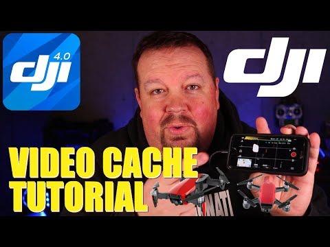 DJI Video Cache Tutorial | Mavic/Spark/Phantom | KlooGee