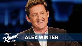 Alex Winter on Frank Zappa Documentary, Losing Mr. T & Directing Kimmel