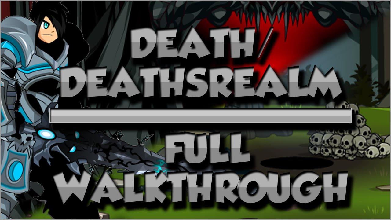 =Aqw= Deaths (/Join Death/Deathsrealm) quests walkthrough FULL