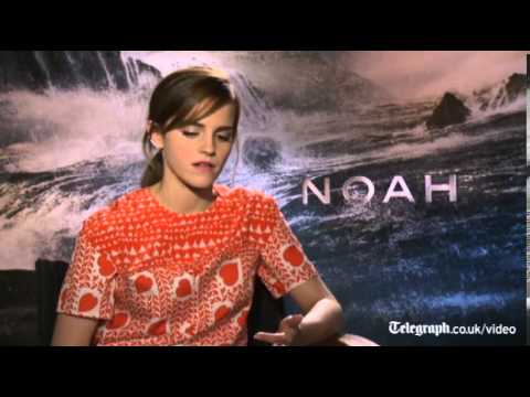 Noah: Emma Watson says she 'believes in a higher power'