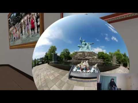 VR room scale 360 degree art/photo gallery