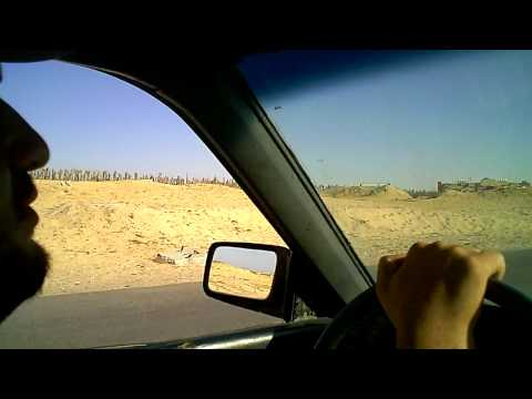 A Drive In Post War Gaza