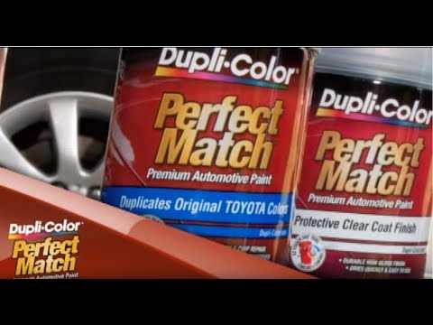 Dupli Color How To Perfect Match Premium Automotive Paint