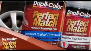 Dupli-Color® How To: Perfect Match Premium Automotive Paint