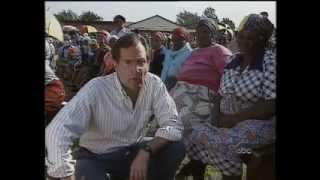 South Africas First Free Elections 1994 - older voters vote for Mandela