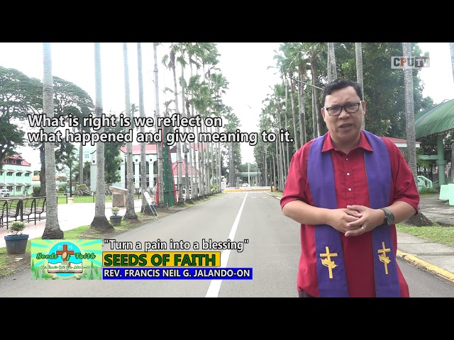 SEEDS OF FAITH EPI 133 Turn a pain into a blessing