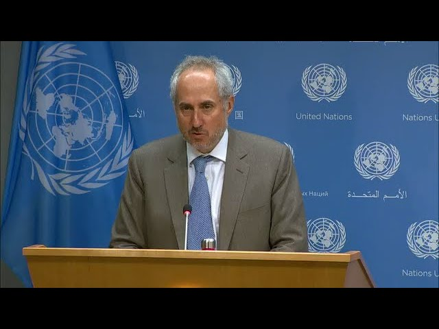 Secretary-General & Other topics - Daily Briefing (16 Septemper 2019)