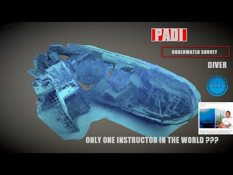 PADI Specialty with only ONE instructor in the WORLD (Greek) Underwater Survey Diver