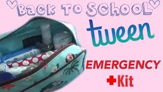 DIY GIRL'S EMERGENCY KIT ( FOR SCHOOL)