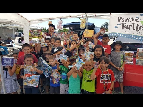 HUGE POKEMON CARD WAR BATTLE!! Ethans EPIC Birthday VINTAGE PACK Suprise At The Psycho Turtle Event!