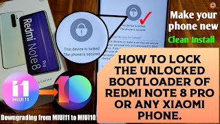 How to Lock / Re-Lock Bootloader in any Phone | Hindi - हिंदी.