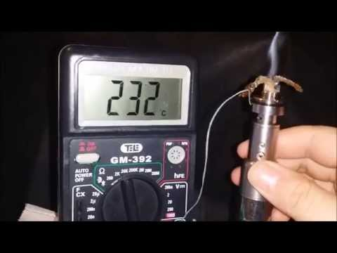Effect of airflow on temperature of e-cigarette wick