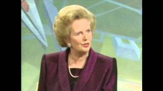 Margaret Thatcher January 1990