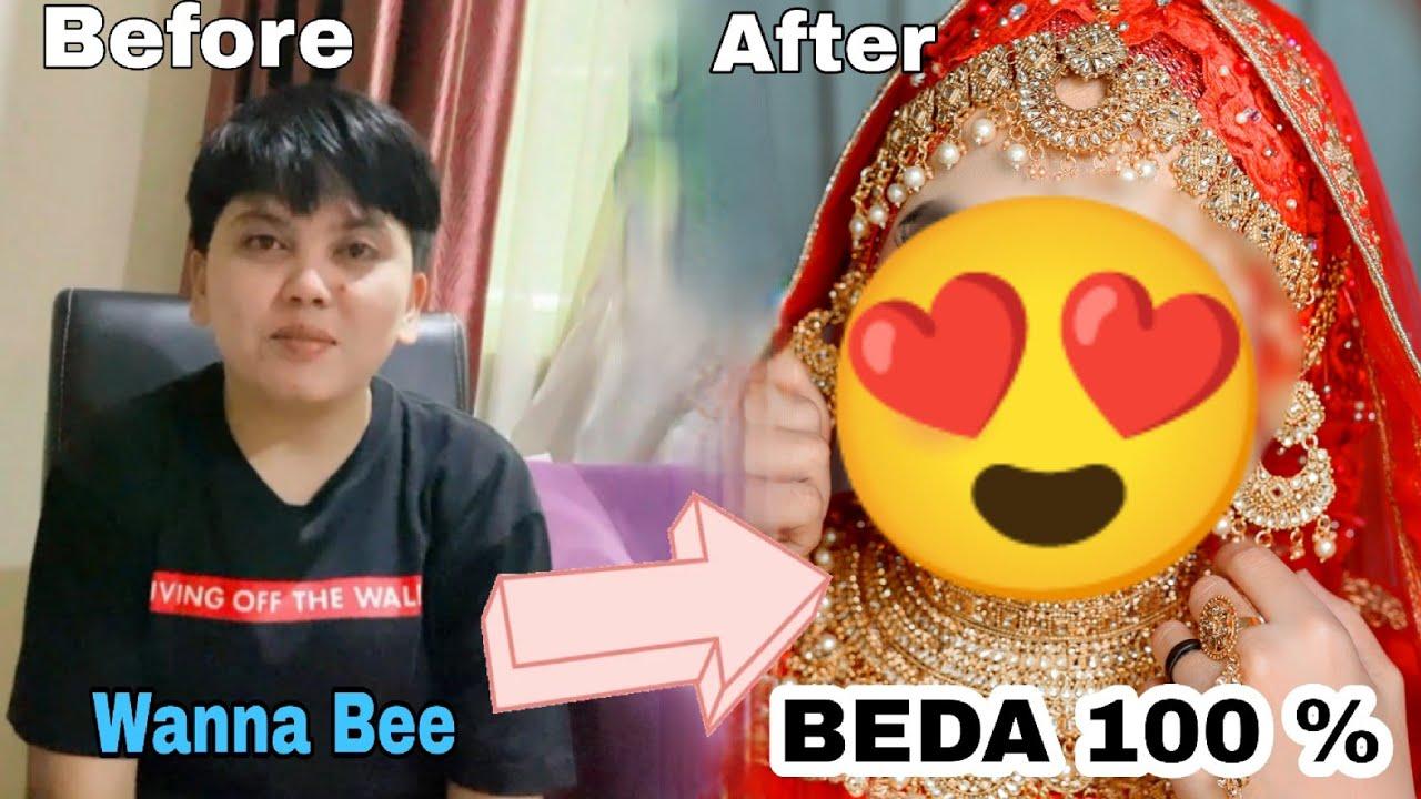 Ternyata!! Wanna Bee cewe Tomboy bisa cantik juga setelah Make Up Wedding