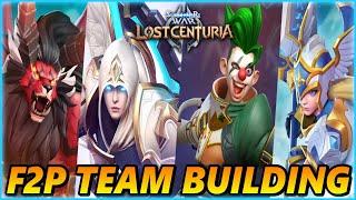 Smart team building in summoners war lost centuria