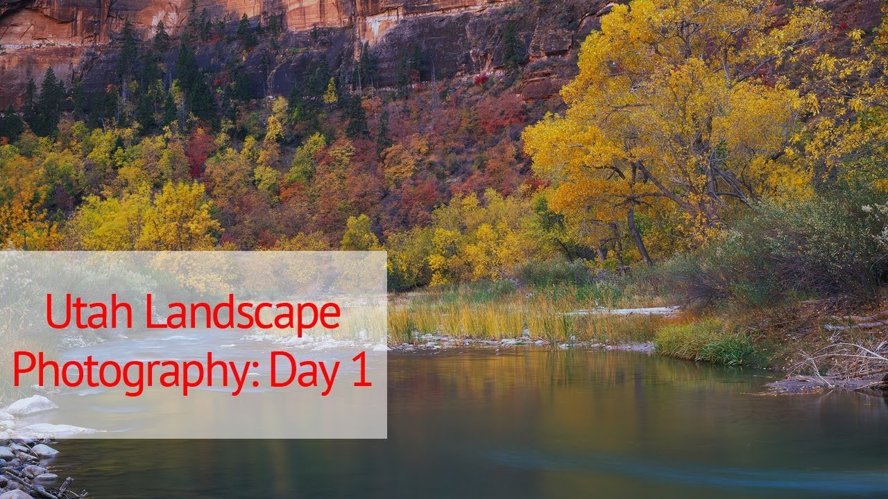 Large Format Landscape Photography In Utah Day 1