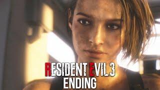 RESIDENT EVIL 3 REMAKE ENDING Gameplay Walkthrough Part 10 - FINAL NEMESIS (FULL GAME)
