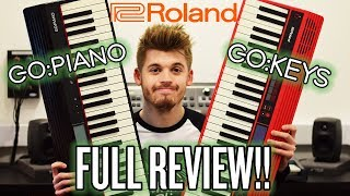Roland Go:Piano and Go:Keys Full Review!