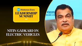 'Want to see electric trucks on highways': Gadkari on govt 's EV plan #HTLS2020