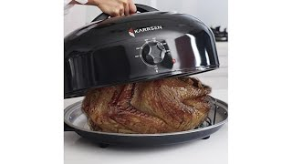 karrsen dome oven and roaster with captive heat technolo