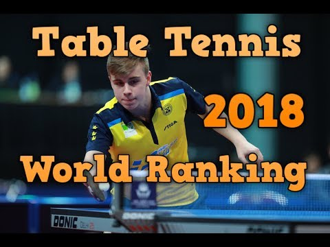 Table Tennis World Ranking May 2018