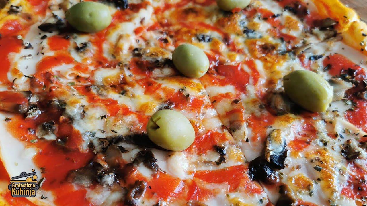 Napravite savršeno PIZZA TESTO kod kuće! | Recept 🎩 Grofastična Kuhinja