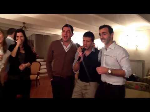 Karaoke - New Year 2014 in Ancona, Italy