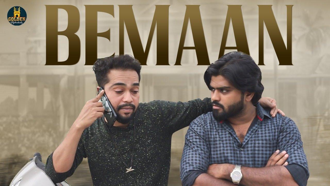 Bemaan | Hyderabadi Short Film | Hyderabadi Comedy video | Abdul Razzak | Golden Hyderabadiz