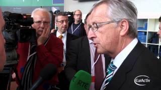 Juncker on Ukraine: