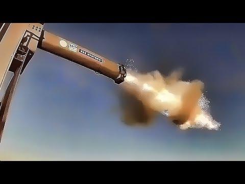 U.S. Navy Railgun Auto-Loader Test • Mach Six Payload