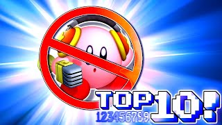 Top 10 WORST Kirby Powers!