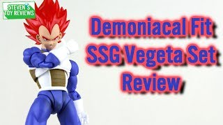 Demoniacal Fit Super Saiyan God Vegeta Headsculpt Review SSG Vegeta