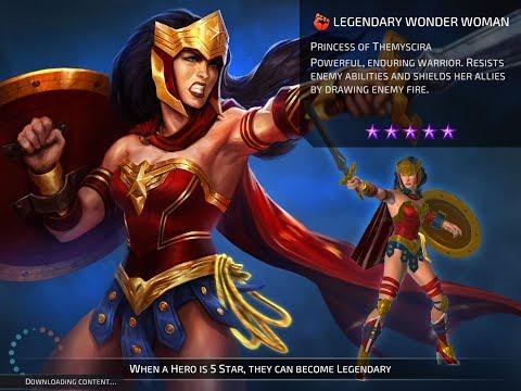 DC Legends Mobile Wonder Woman: Princess Of Themyscira