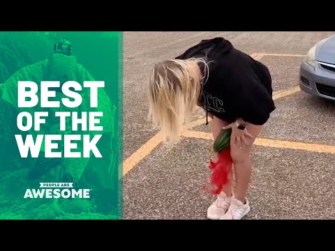 Best of the Week: Watermelon Crushing, Balance Exercises & More | People Are Awesome