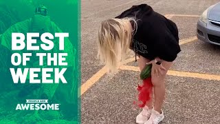 Watermelon Crushing, Balance Exercises & More | Best of the Week Video