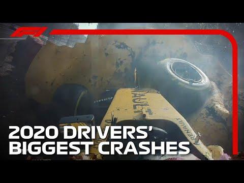 Every 2020 F1 Drivers' Biggest Crash