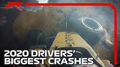 Every 2020 F1 Driver's Biggest Crash