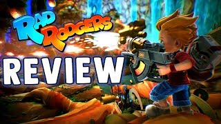 RAD RODGERS REVIEW (PS4 - XBOX ONE & PC) Is Rad Rodgers A Good Game - Rad Rodgers Gameplay & Review