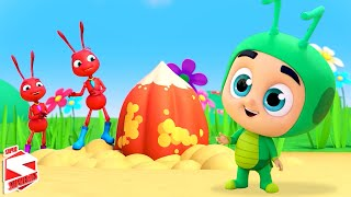 The Ants and The Grasshopper Story   Kids Cartoon Stories   Nursery Rhymes & Baby Songs - Kids Tv