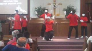 "hip hop praise dance ""Kirk Franklin - Love"""