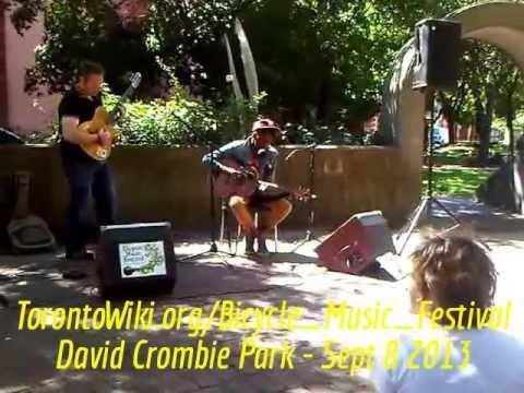 HiMY SYeD -- Kae Sun, Toronto Bicycle Music Festival, David Crombie Park, Sunday September 8 2013