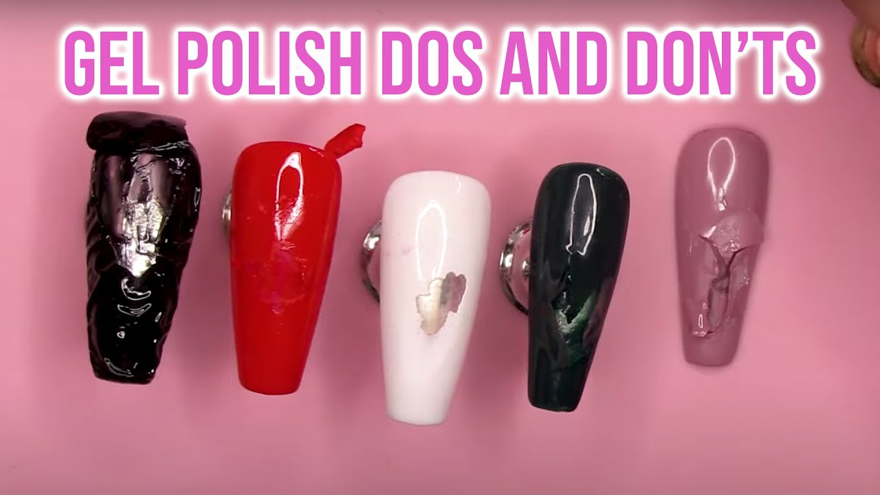 How to Cure Gel Polish Correctly   Do's and Don'ts for a ...