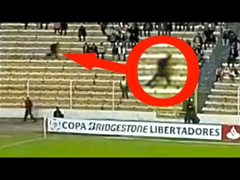 6 Scariest Ghost Moments Caught On Camera at Football Stadiu