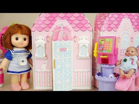 Baby doll house hair shop toys baby Doli play