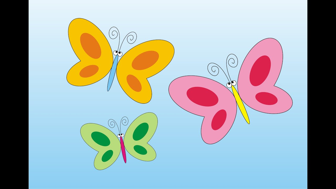 how to draw a simple butterfly using coreldraw youtube