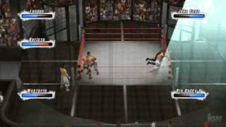 WWE Smackdown Vs. Raw 2009 - Elimination Chamber Match (High Quality)